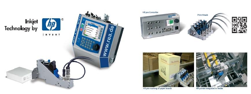 Máy in nhiệt công nghệ HP REA-JET HR